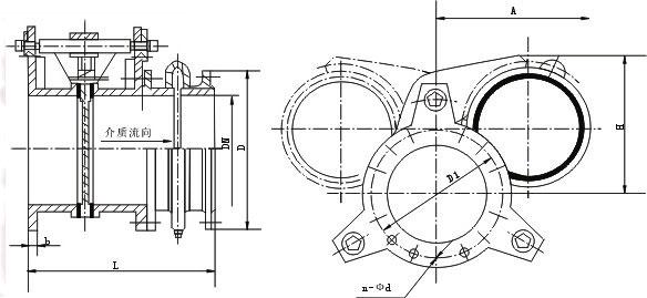 f43ax手动扇形眼镜阀图片